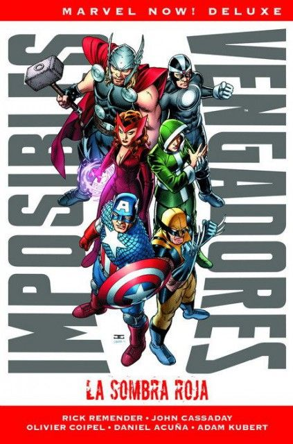 IMPOSIBLES VENGADORES. MARVEL NOW! DELUXE 01