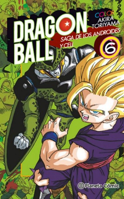 DRAGON BALL COLOR. SAGA DE LOS ANDROIDES Y CELL 06