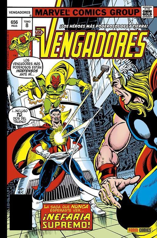 Los Vengadores 8: Nefaria Supremo (Omnigold)