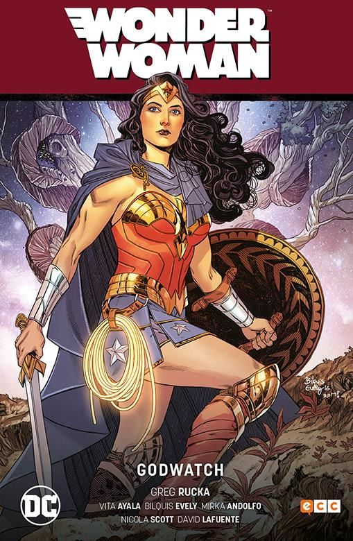 WONDER WOMAN 04: GODWATCH