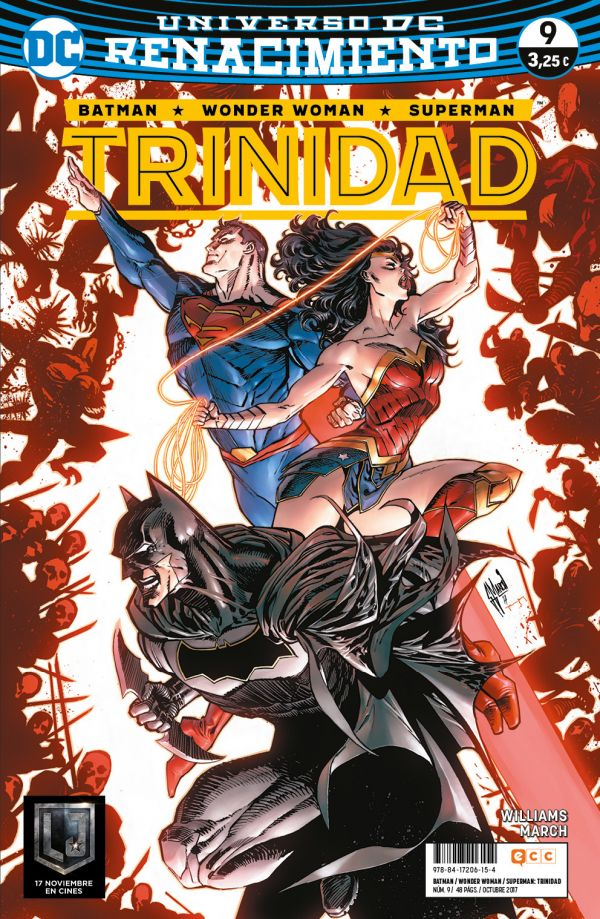 Batman/Wonder Woman/Superman: Trinidad núm. 09 (Renacimiento)