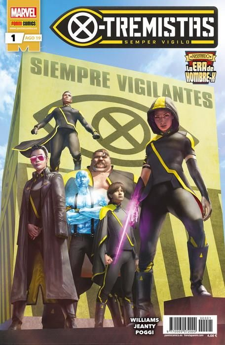 LA ERA DE HOMBRE-X: X-TREMISTAS 01