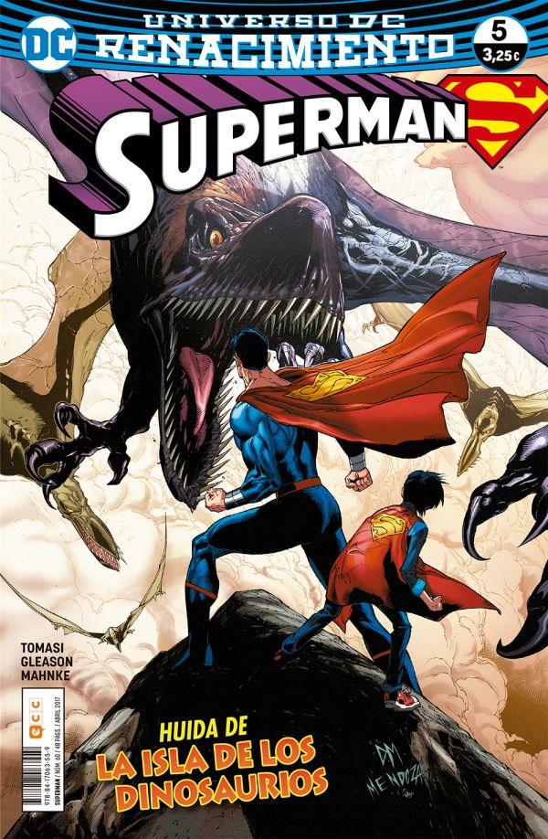 Superman núm. 05 (Renacimiento)