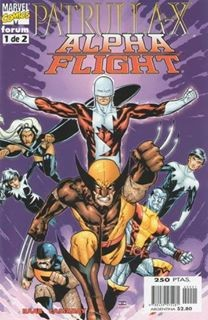 PATRULLA-X Y ALPHA FLIGHT