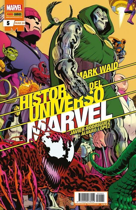 Historia del Universo Marvel 05 (Edición normal)