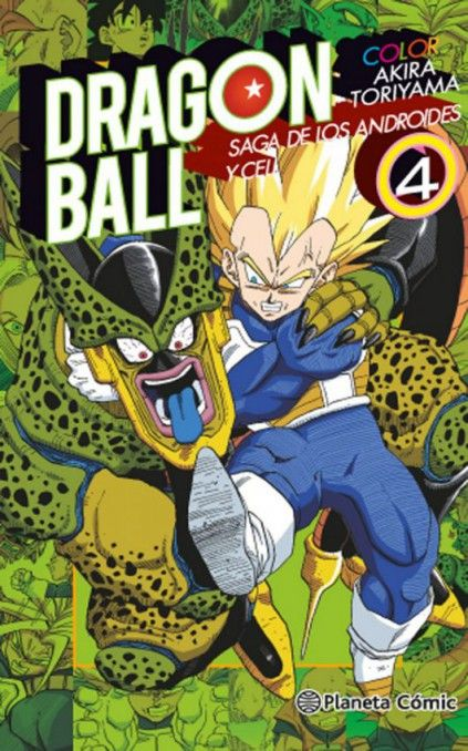 DRAGON BALL COLOR. SAGA DE LOS ANDROIDES Y CELL 04