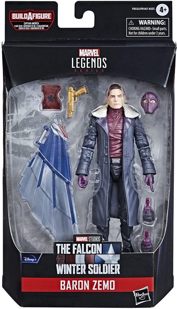 Marvel Legends Figura Baron Zemo