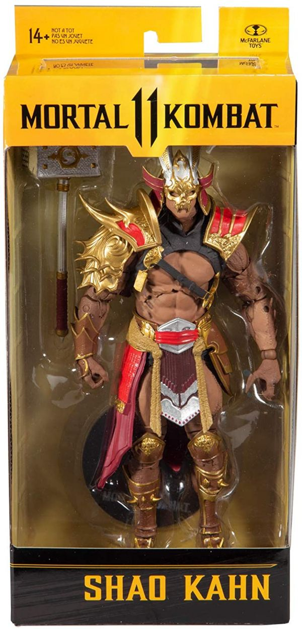Mortal Kombat 11 Figura Shao Kahn 18 cm