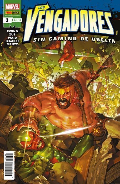 LOS VENGADORES: SIN CAMINO DE VUELTA 03