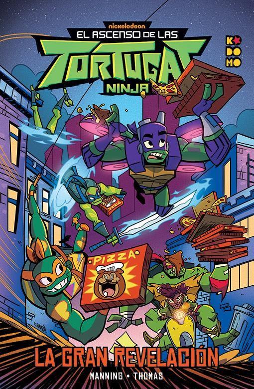 El ascenso de las Tortugas Ninja: La gran revelación