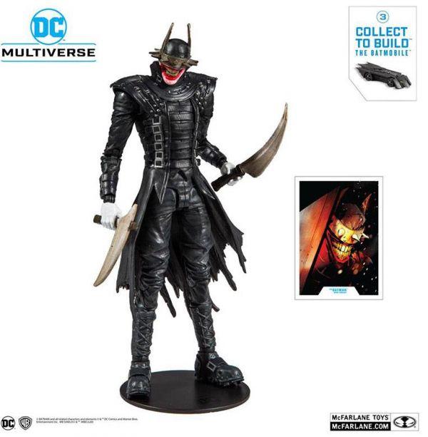 Dark Nights: Metal Figura Build A The Batman Who Laughs 18 cm