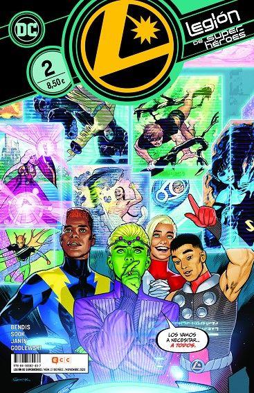 Legión de Superhéroes 02