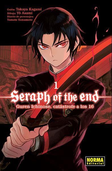 Seraph of the end. Guren Ichinose, catástrofe a los 16 01