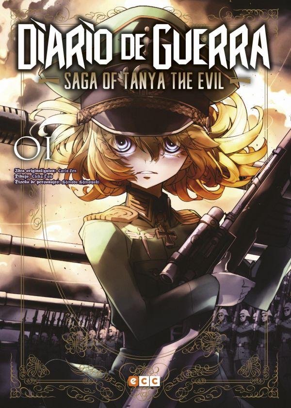 Diario de guerra - Saga of Tanya the evil 01