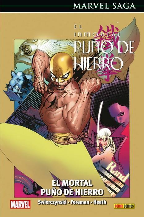 MARVEL SAGA. EL INMORTAL PUÑO DE HIERRO 04