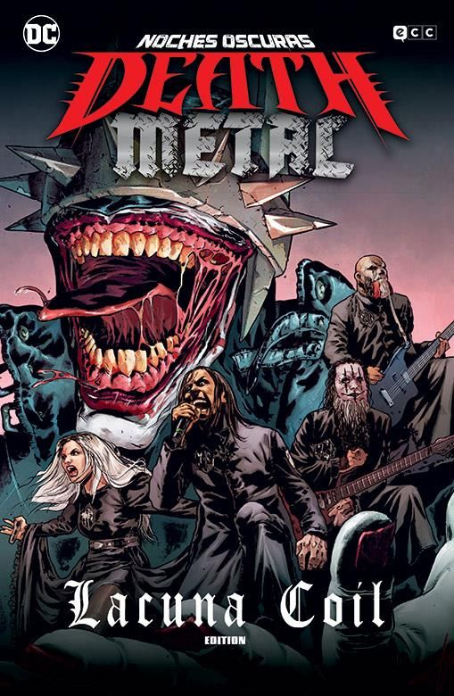Noches oscuras: Death Metal 03 de 7 (Lacuna Coil Band Edition) (Cartoné)