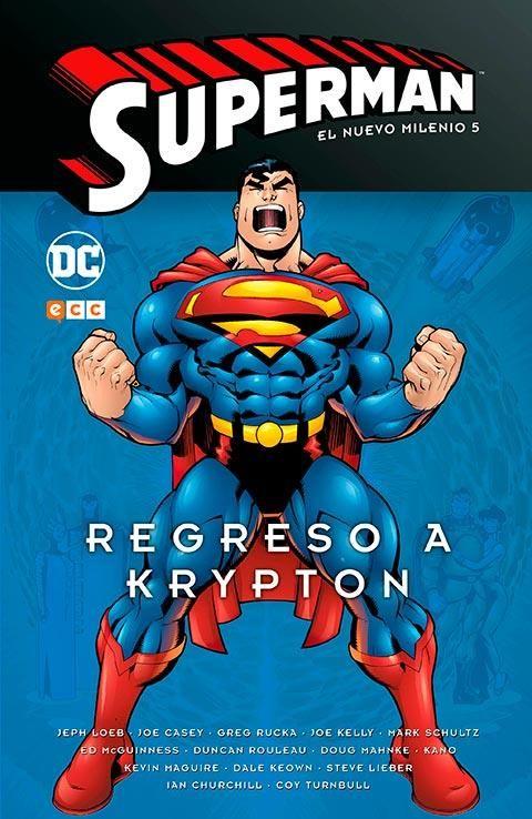 Superman: El nuevo milenio núm. 05 - Regreso a Krypton