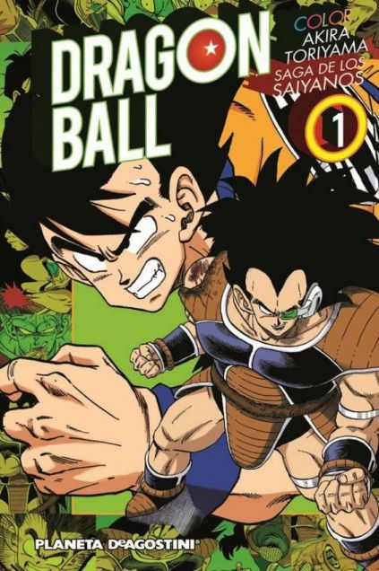 DRAGON BALL COLOR. SAGA DE LOS SAIYANOS 01