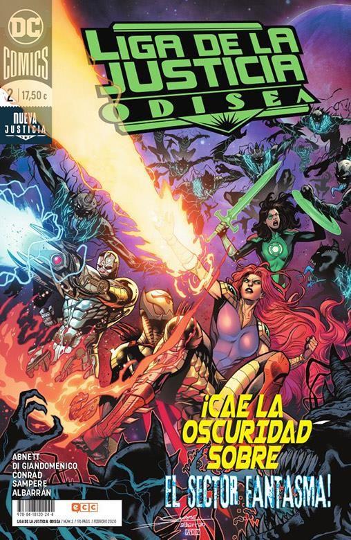 LIGA DE LA JUSTICIA: ODISEA 02