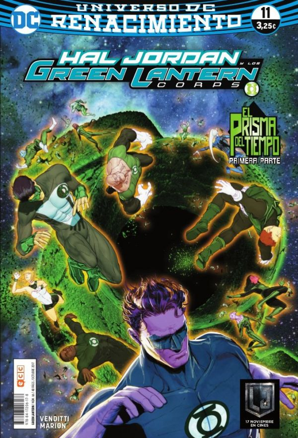 Green Lantern núm. 11 (Renacimiento)