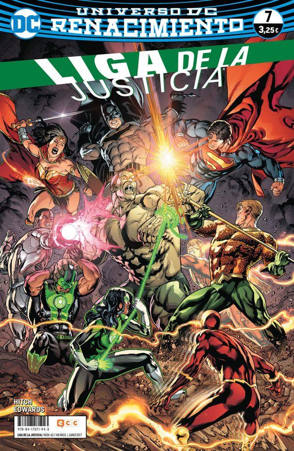 Liga de la Justicia núm. 07 (Renacimiento)