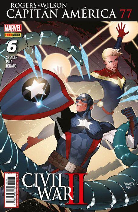 Rogers - Wilson: Capitán América     6