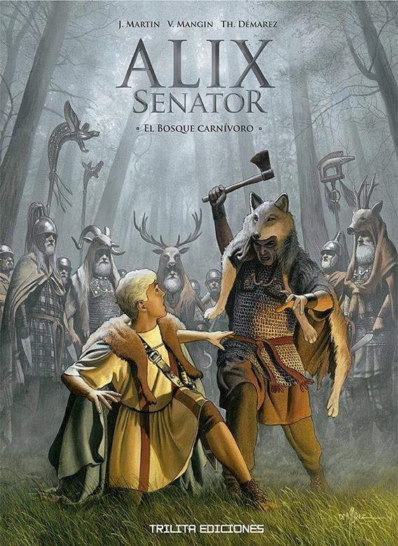 Alix Senator 10: El bosque carnívoro