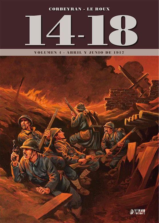 14-18. Vol. 4 (Abril y junio de 1917)