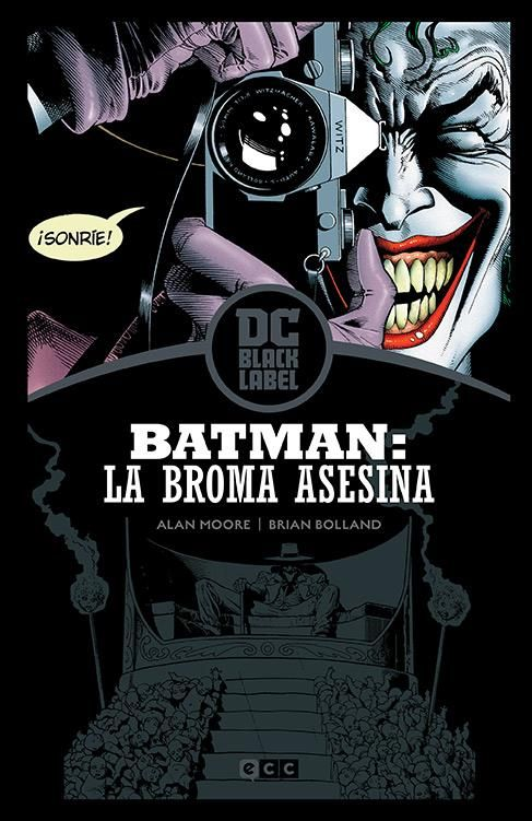 BATMAN: LA BROMA ASESINA (EDICIÓN BLACK LABEL)