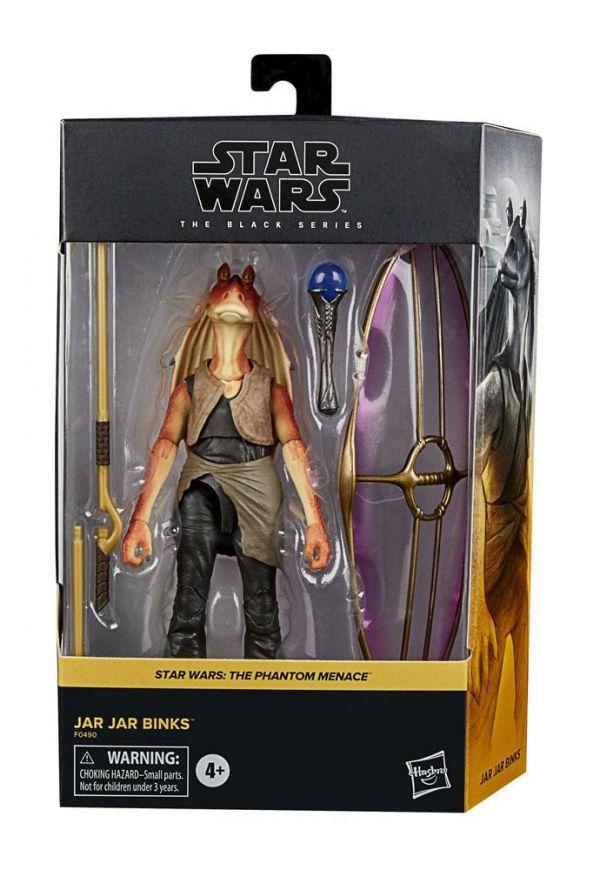 Star Wars Episode I Black Series Figura Deluxe 2021 Jar Jar Binks 15 cm