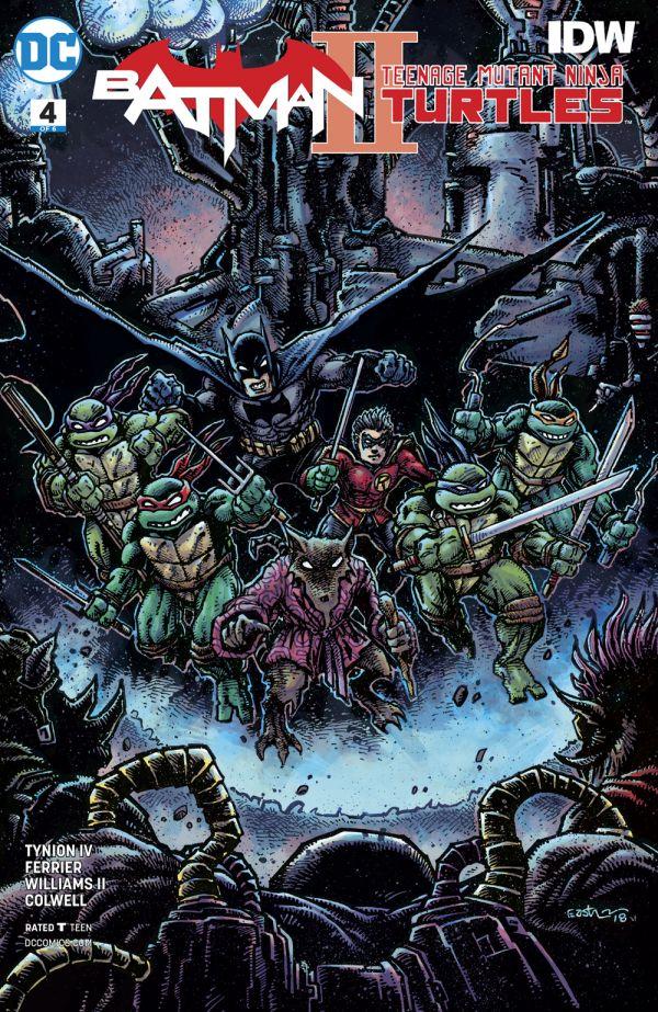 BATMAN TEENAGE MUTANT NINJA TURTLES II #4 (OF 6) VAR ED