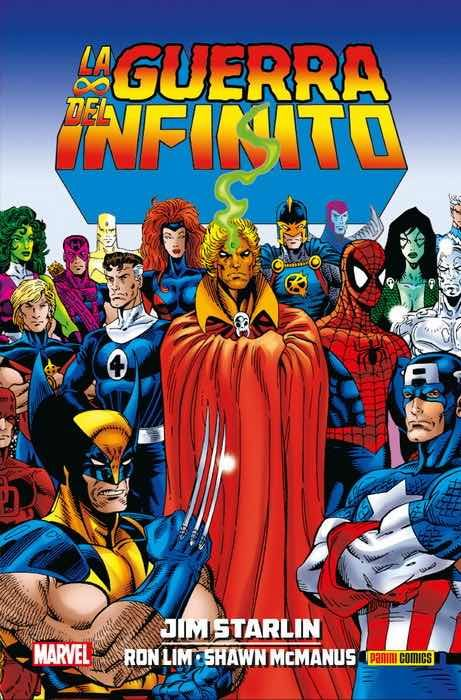 Colección Jim Starlin 07: La Guerra del Infinito