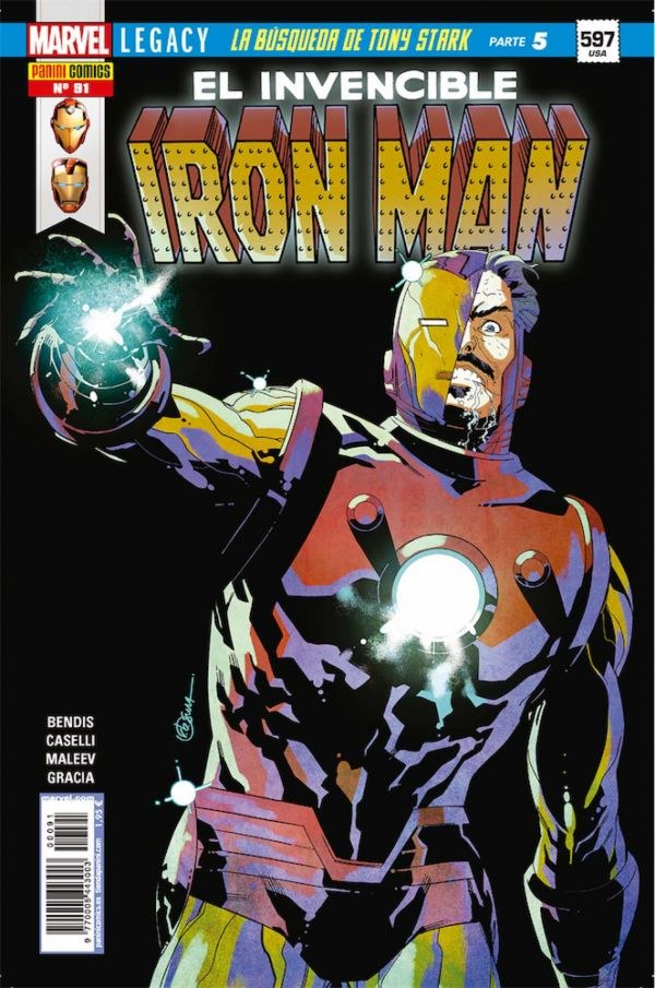 EL INVENCIBLE IRON MAN 91