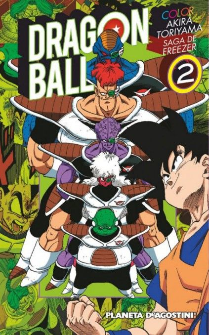 DRAGON BALL COLOR. SAGA DE FREEZER 02