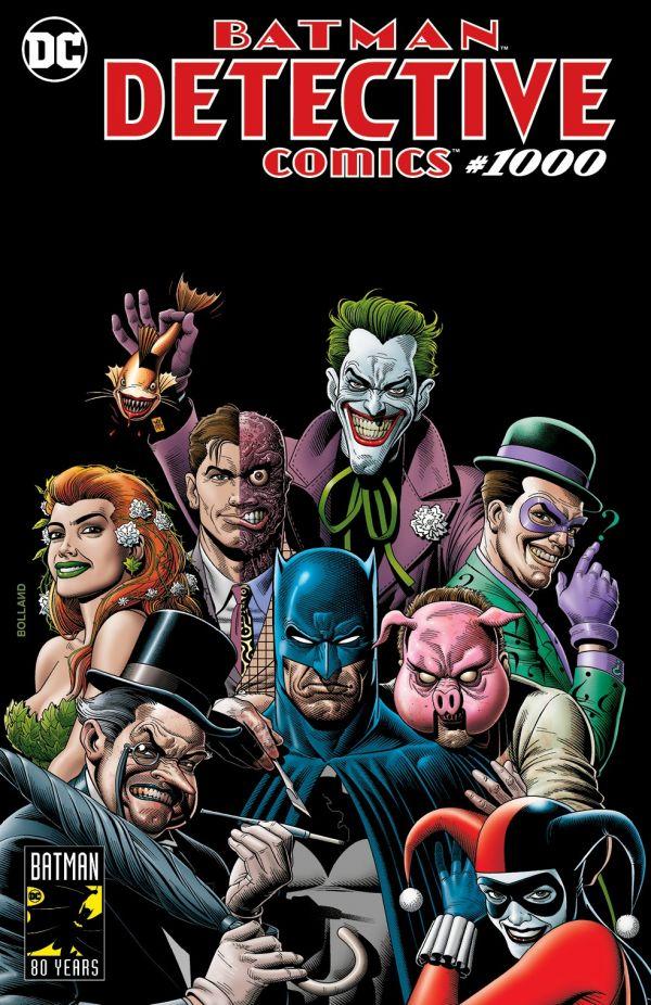 DETECTIVE COMICS #1000 (VARIANT COVER BRIAN BOLLAND. FORBIDDEN PLANET)