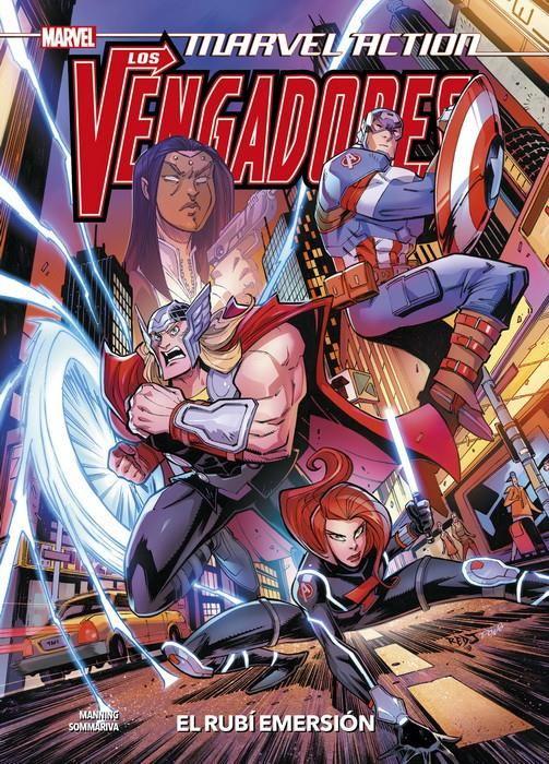 Marvel Action. Los Vengadores 02. El Rubí Emersión