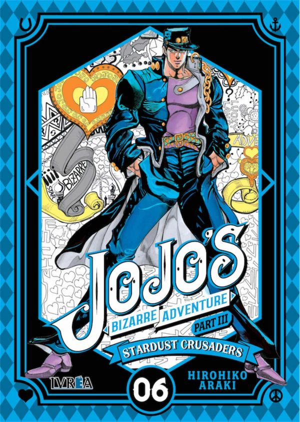 JOJO'S BIZARRE ADVENTURE. PART III : STARDUST CRUSADERS 06