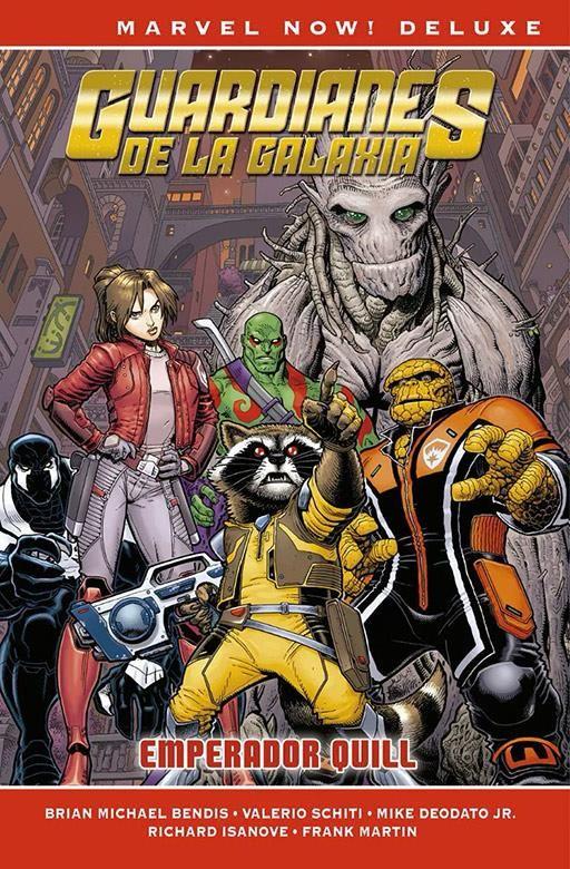 Guardianes de la Galaxia de Brian M. Bendis 04 - Cómic Marvel Now! Deluxe