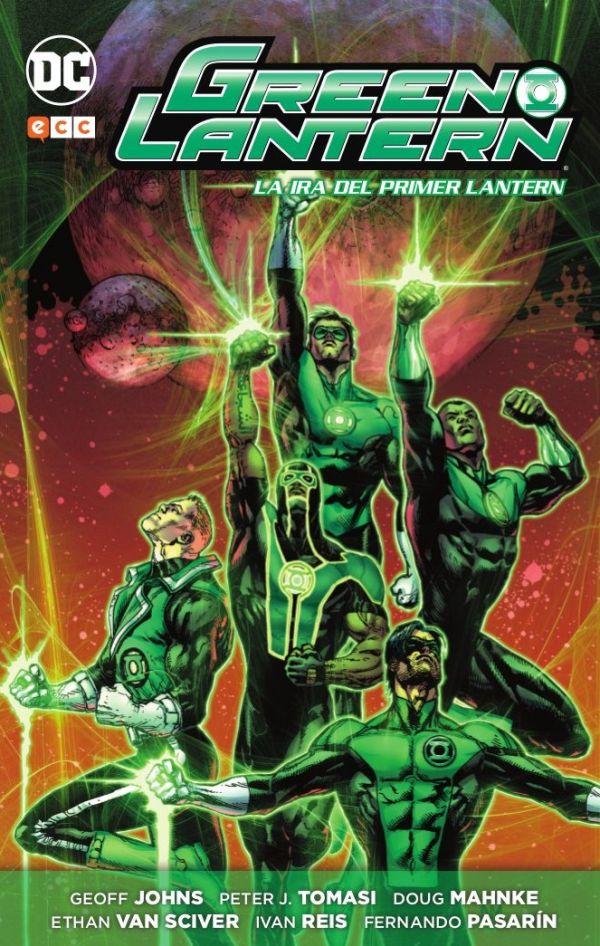 Green Lantern de Geoff Johns núm. 09: La ira del primer Lantern