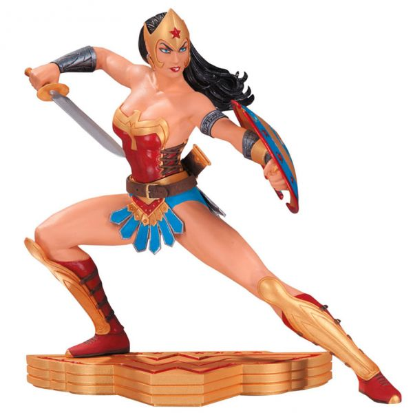Estatua Wonder Woman: The Art of War 15 cm. Diseño de Jose Luis Garcia-Lopez. DC Collectibles