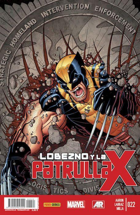 LOBEZNO Y LA PATRULLA-X 22