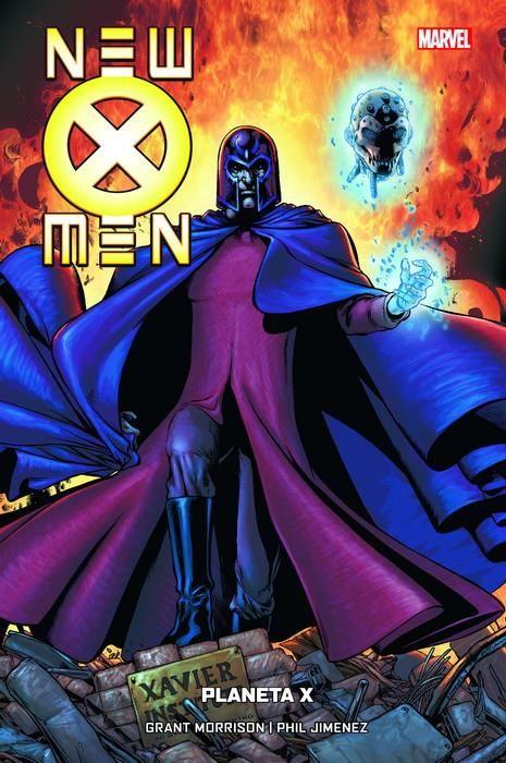 New X-Men 06 de 7. Planeta X