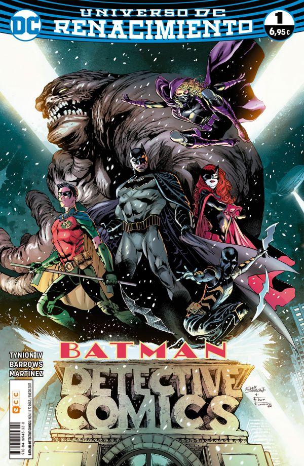Batman: Detective Comics núm. 01 (Renacimiento)