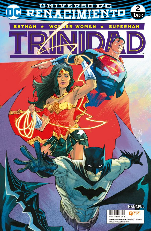 Batman/Wonder Woman/Superman: Trinidad núm. 02 (Renacimiento)