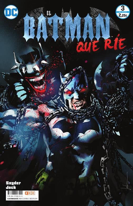 EL BATMAN QUE RÍE 03 (DE 08)