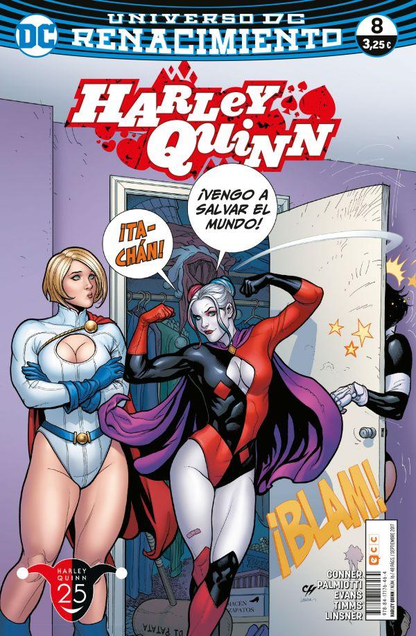 Harley Quinn núm. 08 (Renacimiento)