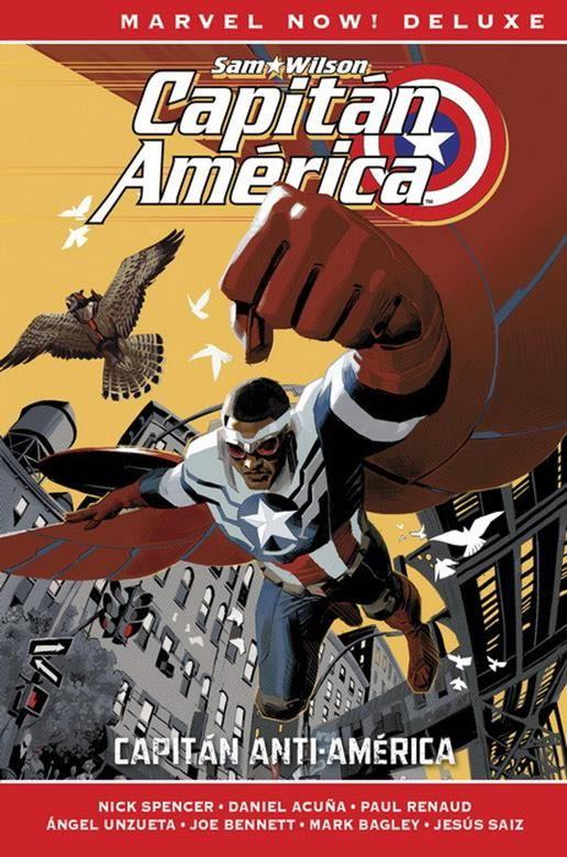 Capitán América de Nick Spencer 01. Capitán Anti-América (Cómic Marvel Now! Deluxe)