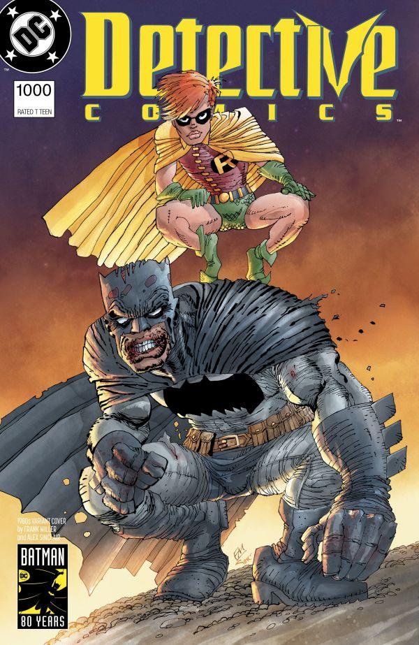 DETECTIVE COMICS #1000 (VARIANT COVER 1980 FRANK MILLER)