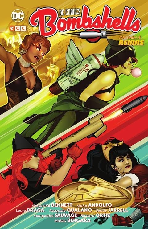 DC Comics Bombshells vol. 04