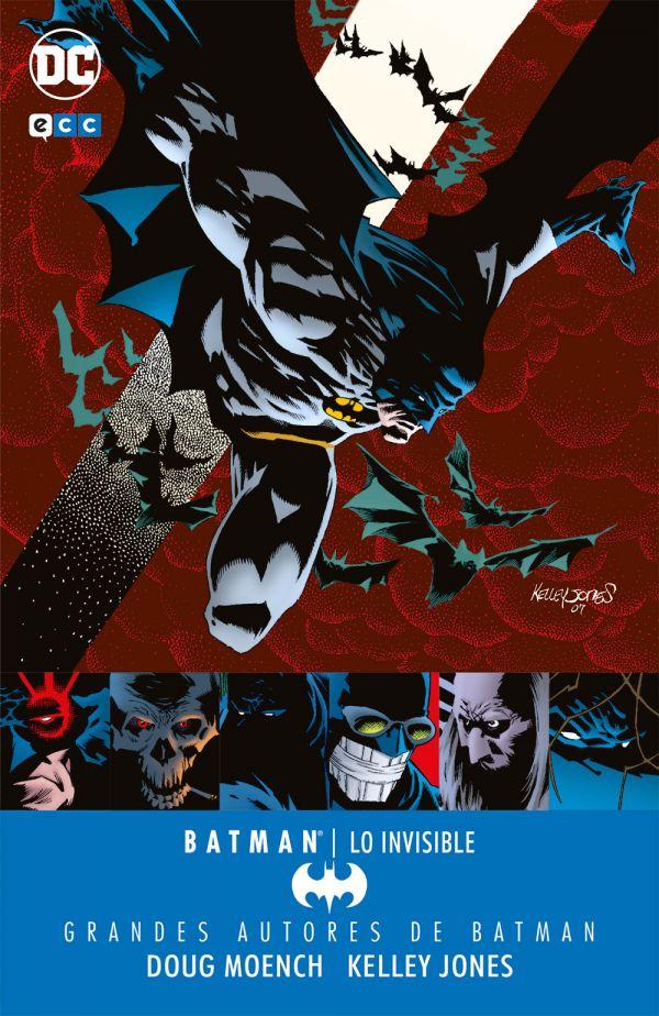 Grandes autores de Batman: Doug Moench y Kelley Jones - Lo invisible